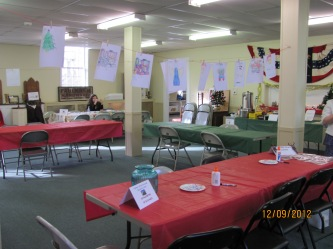 The Villages Room set up for an event.